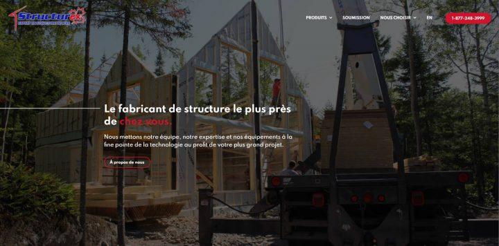 Structurex - Accueil