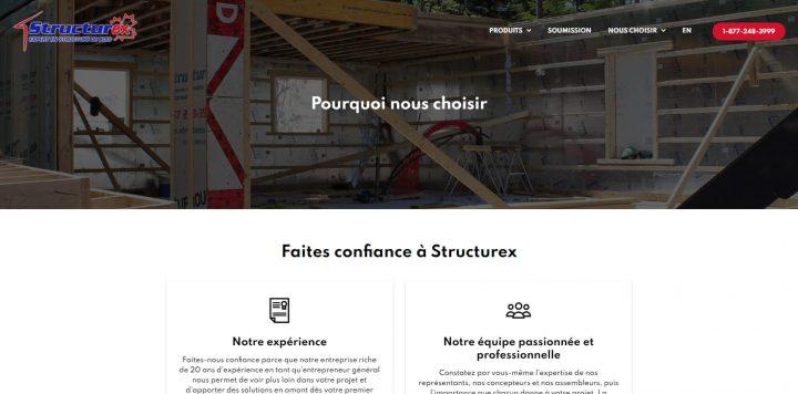 Structurex - Produit